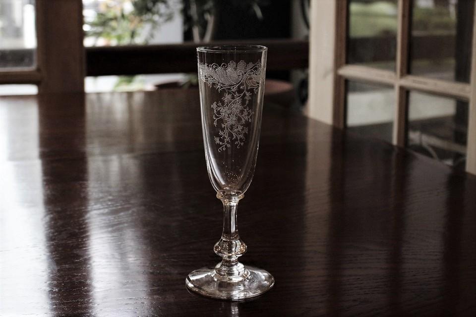 サンルイ クレオ シャンパンフルート 17cm 5020