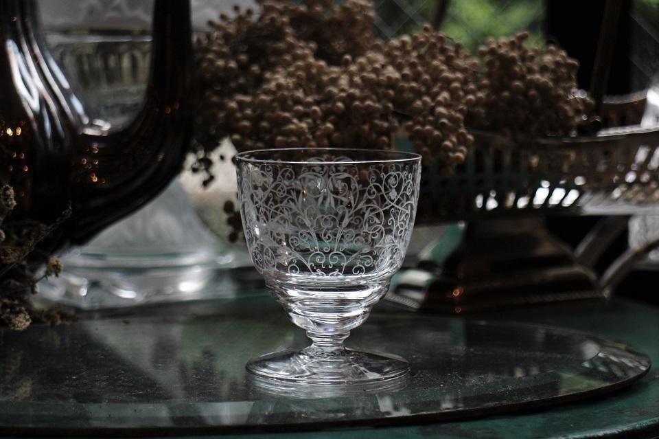 バカラ ルリ(リュリ)グラス 1936年以降 79mm 5309