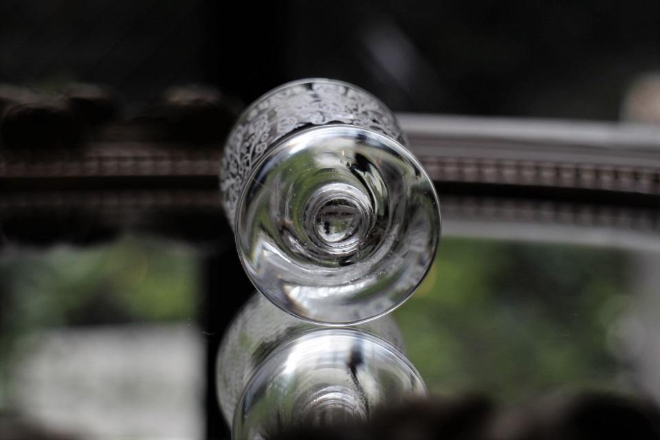 バカラ ルリ(リュリ) リキュールグラス 51mm 5041