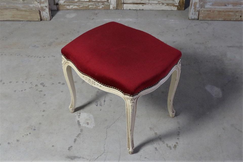 ルイ15世様式 フレンチスツール 4620