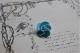 フランス アンティーク 薔薇のガラスボタン Φ20mm 3167_21