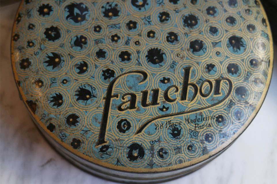 FAUCHON フォション オールドティンボックス 3313