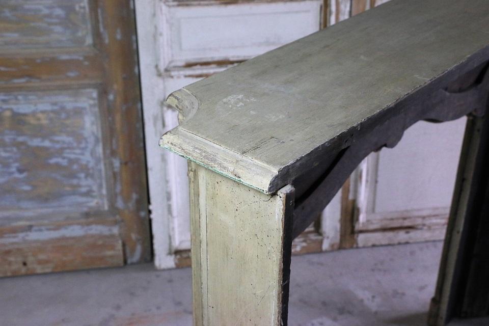 フレンチ 木製 ペインテッドマントルピース 4665