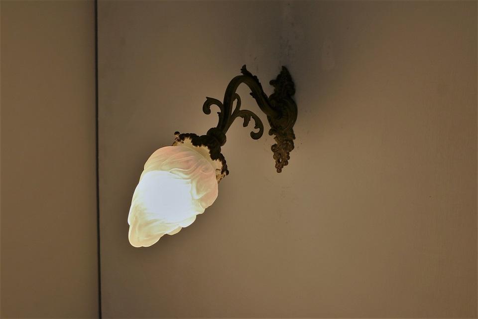 フランス ロココなウォールブラケットランプ 1345