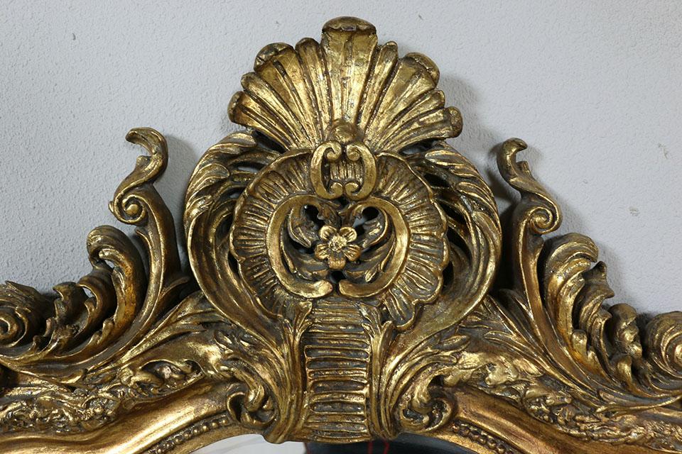 ゴールドペインテッドミラー 1387