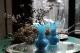 フランス Portieux Vallerysthal (ポルティユー・ヴァレリスタル社) オパリンフラワーベース 5196