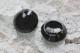 オーストラリア ヴィンテージガラスボタン2pcsセット Φ22mm 3506_14