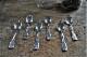 フランス カフェジルベール シルバープレーテッド スプーン 6pcsセット 5246