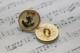イギリス ヴィンテージメタルボタン2pcsセット Φ21mm 3506_15