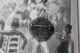 フランス フランス大聖堂ノートルダム・ド・ルルドのモノグラムが入ったフィリグリーブローチ 4009