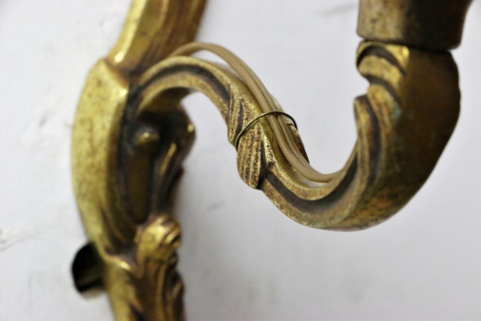 フランス 真鍮 ウォールランプ 4443_02