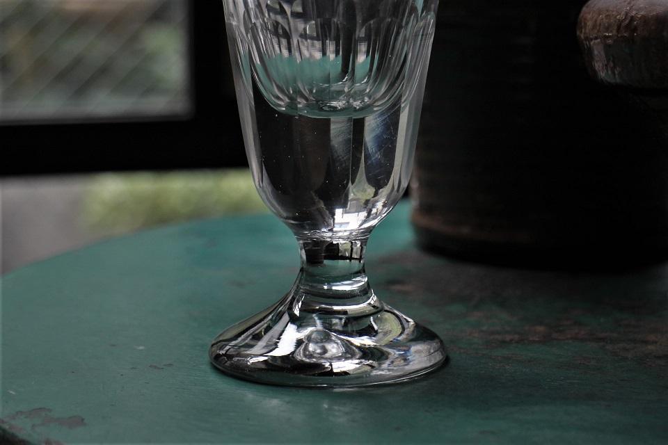 フランス 19世紀 アンティークワイングラス 218002