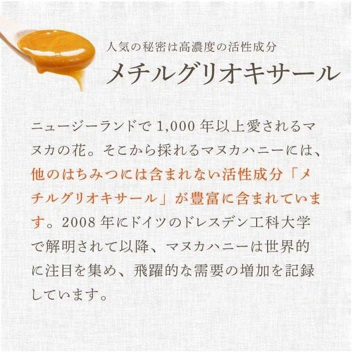 【定期便専用】 マヌカハニー UMF5+ 250g ジンジャー