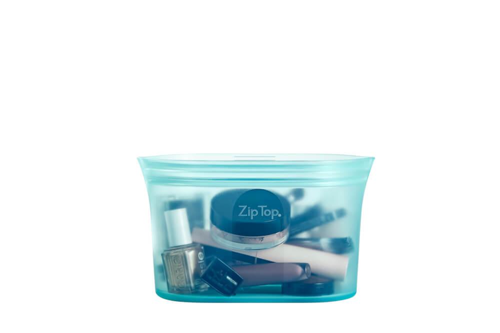 ZipTop シリコンディッシュカラー「ブルー」  S〜Lサイズ