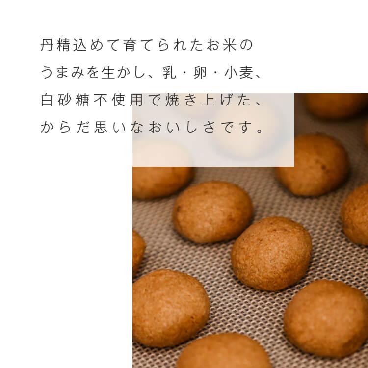 米粉の焼き菓子 ポルボローネ