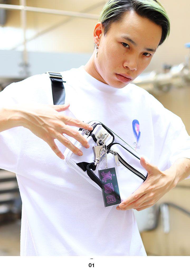 ヲタ映えモード 真面目 まじめ マジメ キーホルダー キーチェーン キーリング メンズ レディース 黒 スケルトン クリア 透明 ストリート系 原宿系 ファッション ブランド シンプル 大人 面白い おもしろ インスタ映え かっこいい おしゃれ 日本製 ギフト WB-AC-KR-005