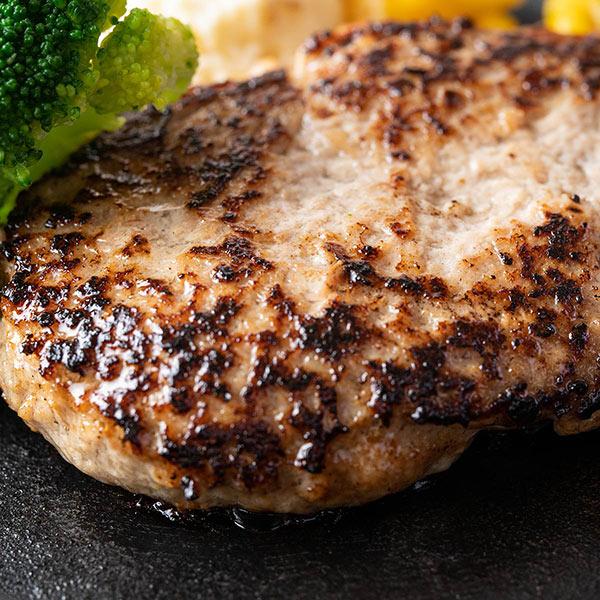 【北海道産】豚ハンバーグ   5個セット(豚肉100%)
