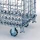 【運搬作業用品-パレット】テイモー ボックスパレット コイルタイプ 1115-C キャスター付 <大型・重量商品>