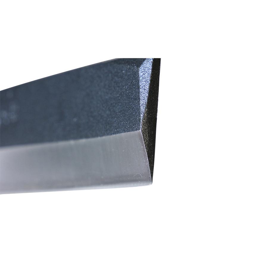 【園芸作業用品-鉈(なた)・斧(おの)】宝長久寛文作 鋼付サヤ鉈 165mm片刃