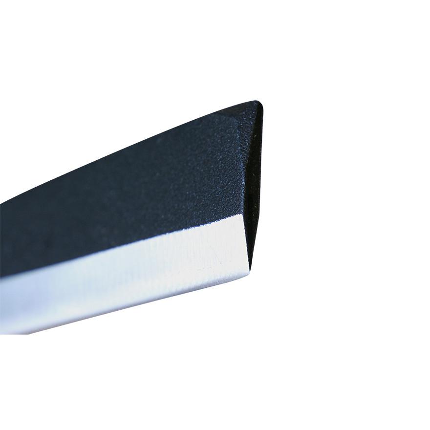 【園芸作業用品-鉈(なた)・斧(おの)】宝長久寛文作 鋼付サヤ鉈 165mm両刃