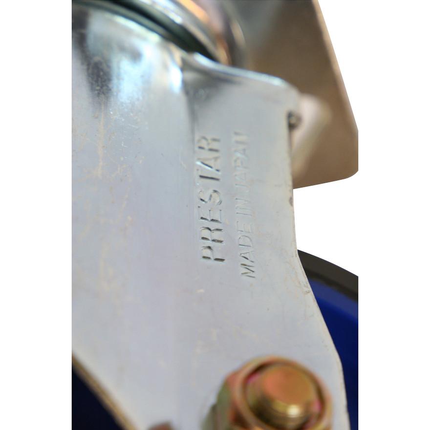 【運搬作業用品-台車部品・キャスター・車輪】キャリーラック大用 キャスター 130mm自在車輪(前輪)