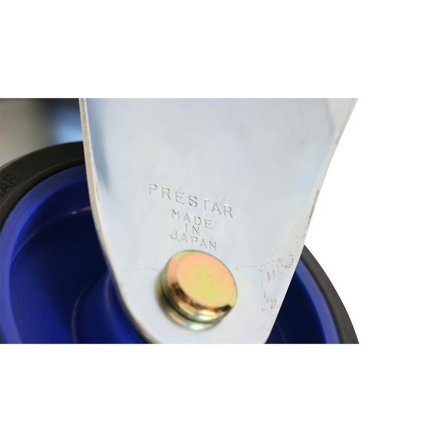 【運搬作業用品-台車部品・キャスター・車輪】キャリーラック大用 キャスター 130mm固定車輪(後輪)