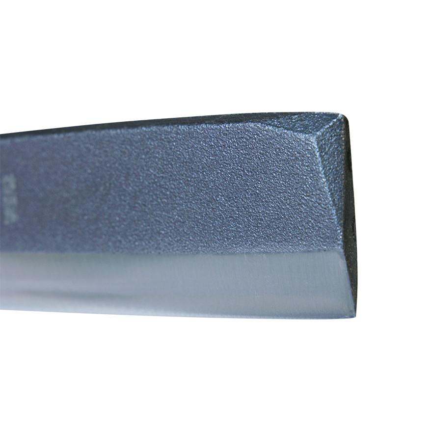【園芸作業用品-鉈(なた)・斧(おの)】宝長久寛文作 鋼付サヤ鉈 180mm両刃