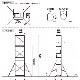 【はしご・脚立・足場台- 脚立】ピカ パイプ製足場 【ハッスルタワー】 2段セット ATL-2WA <大型・重量商品>