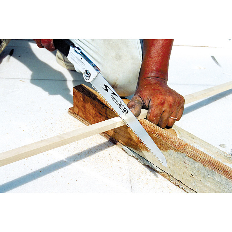 【園芸作業用品 -  鋸 - 大工用鋸】アルス 大工用折込鋸ピーメタル 厚刃 PM-24H