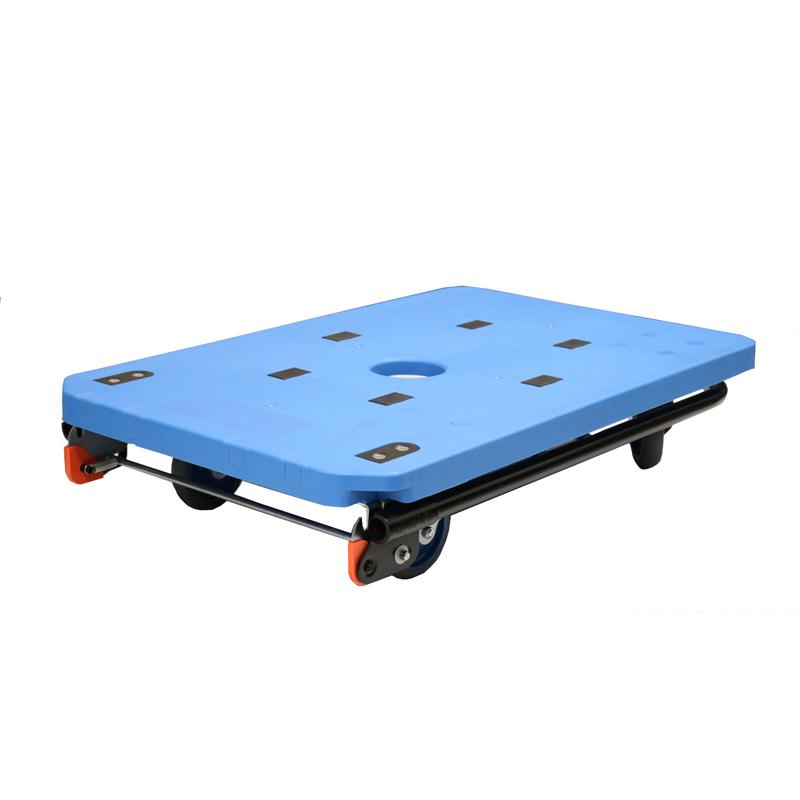 【運搬作業用品-台車】ワコーパレット プラマイハンドカー Sタイプ <大型・重量商品>