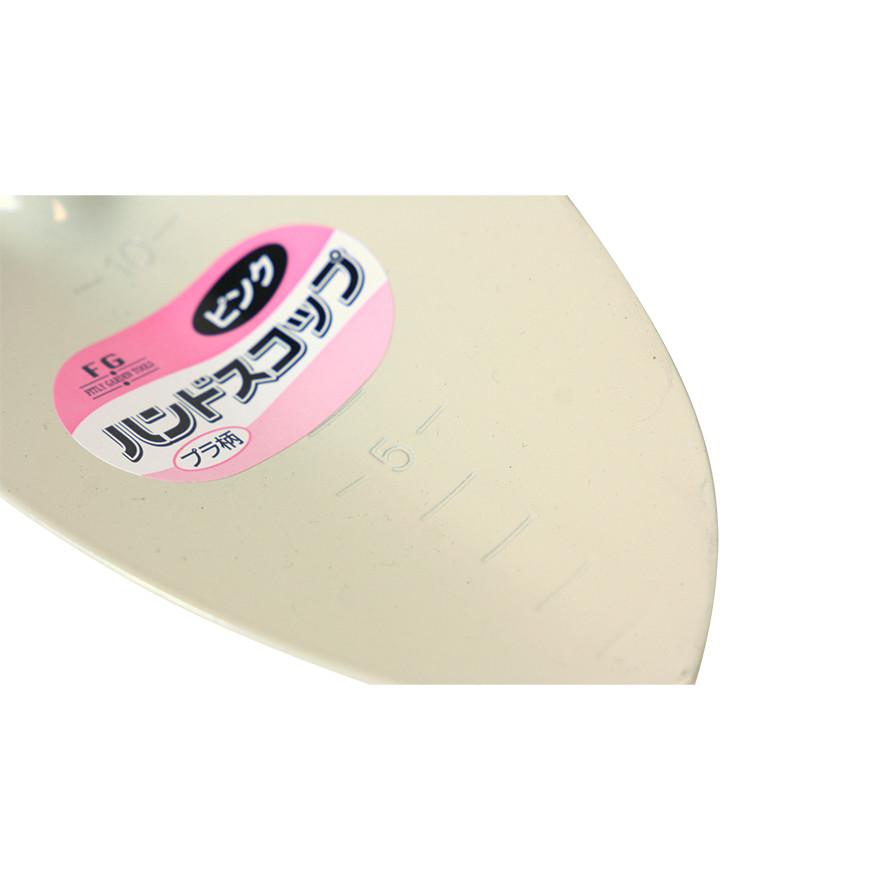 【園芸作業用品-スコップ】FG ハンドスコップ プラ柄 ピンク