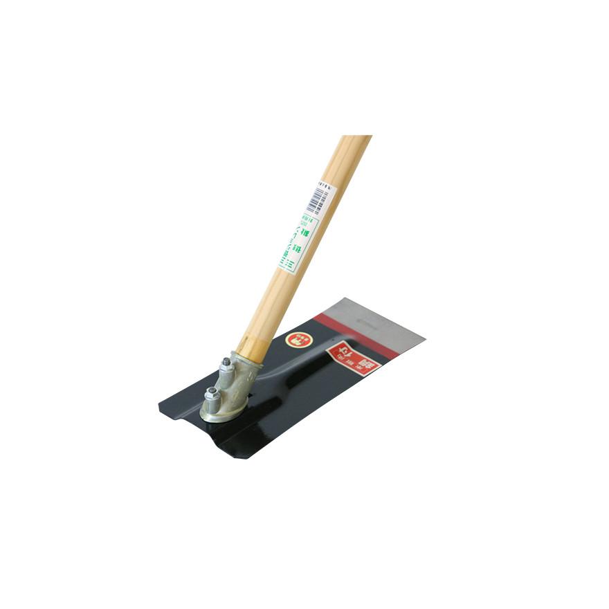 【農作業用品-鍬(くわ)】金象 三徳鍬鋼付50°1350柄共
