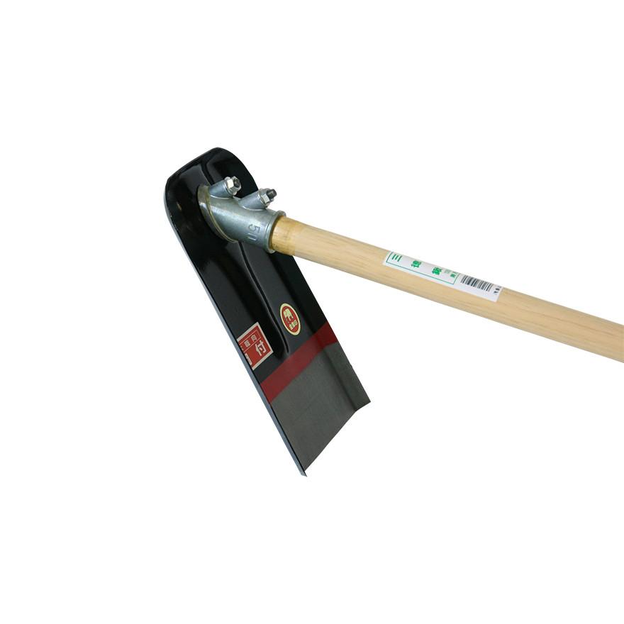 【農作業用品-鍬(くわ)】金象 谷ガキ鍬鋼付50°1350柄共