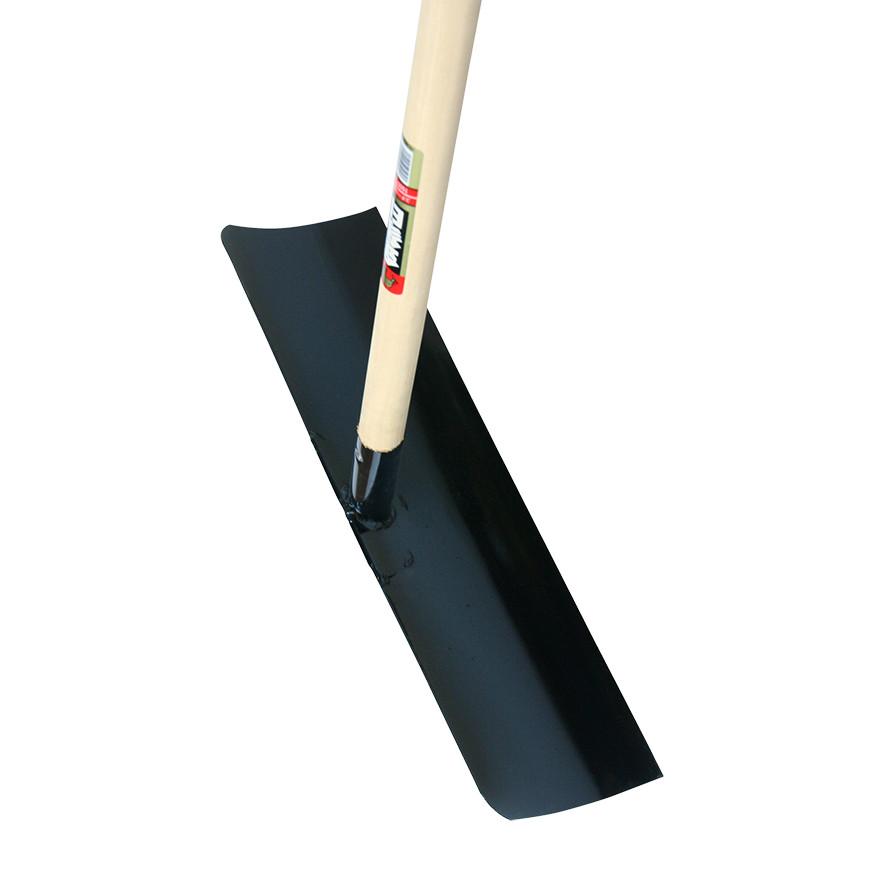 【土木作業用品-レーキ・トンボ】金象印 スチール板レーキ 1500柄付 <大型・重量商品>