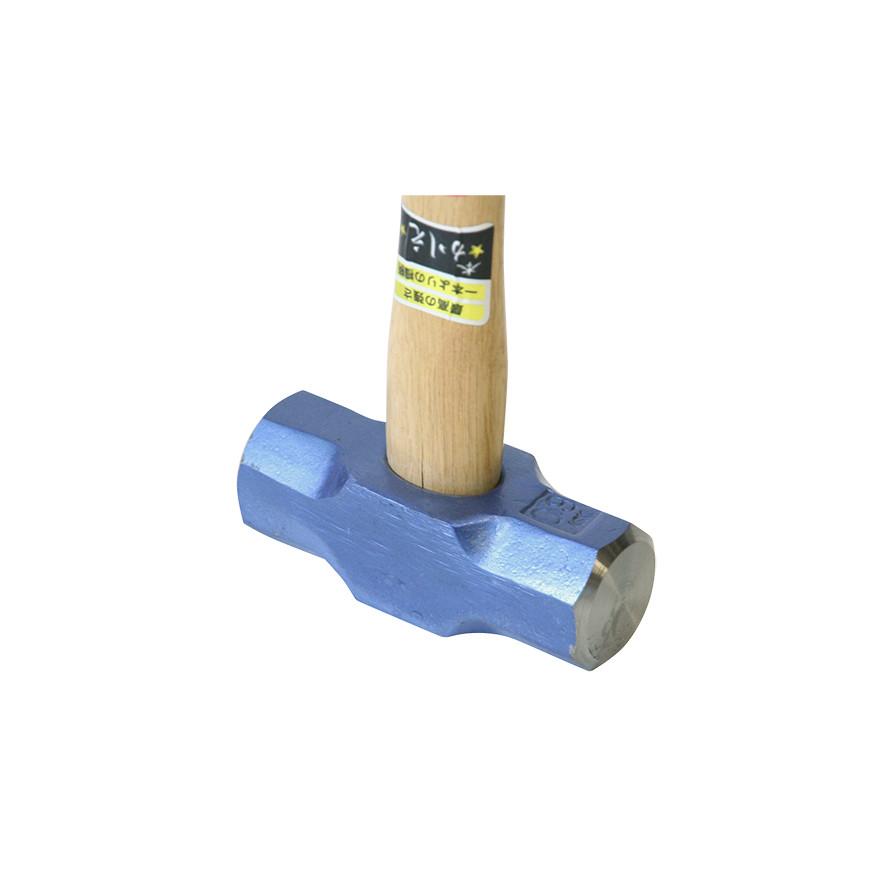 【土木作業用品-ハンマー】金象印 両口ハンマー 0.9 柄付