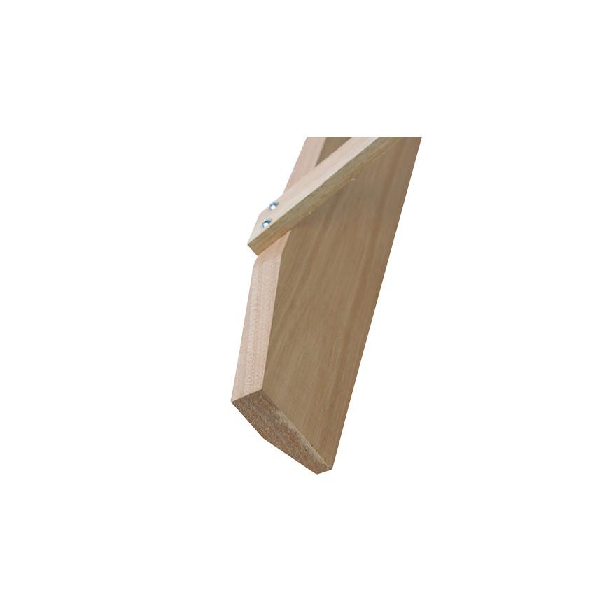【土木作業用品-レーキ・トンボ】木製レーキ 大