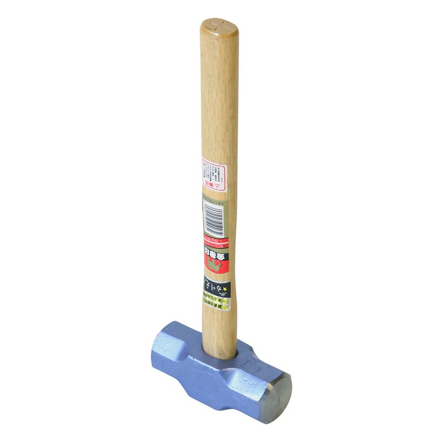 【土木作業用品-ハンマー】金象印 両口ハンマー 1.3 柄付