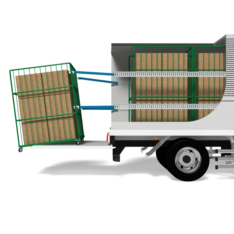 【運搬作業用品-荷締めベルト】オールセーフ カゴ台車落下防止ベルト 1本売り 1.25M <大型・重量商品>
