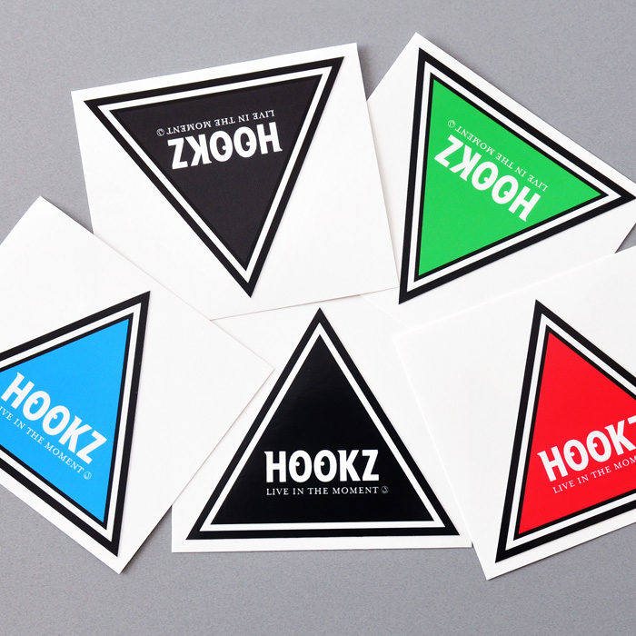 HOOKZ ピラミッドステッカー