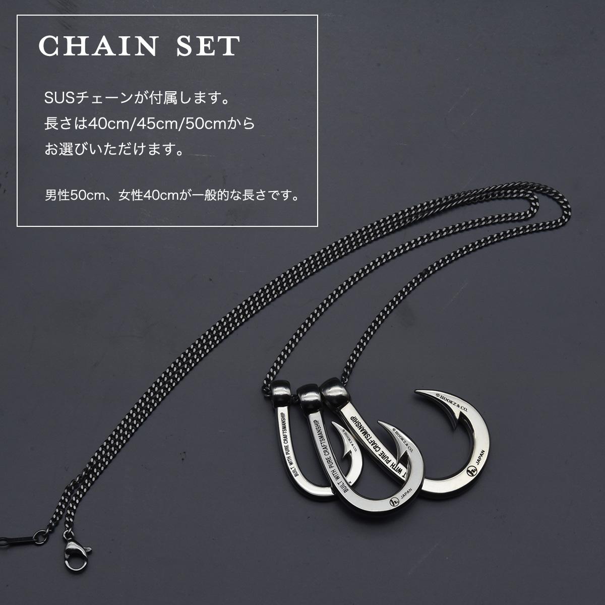 釣り針ネックレス 【Sサイズ】MK�