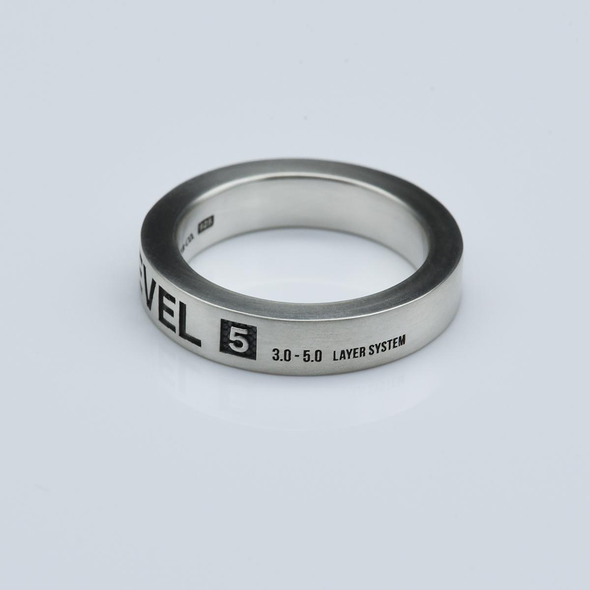 UNLOCK リング 5mm(マット仕上げ)