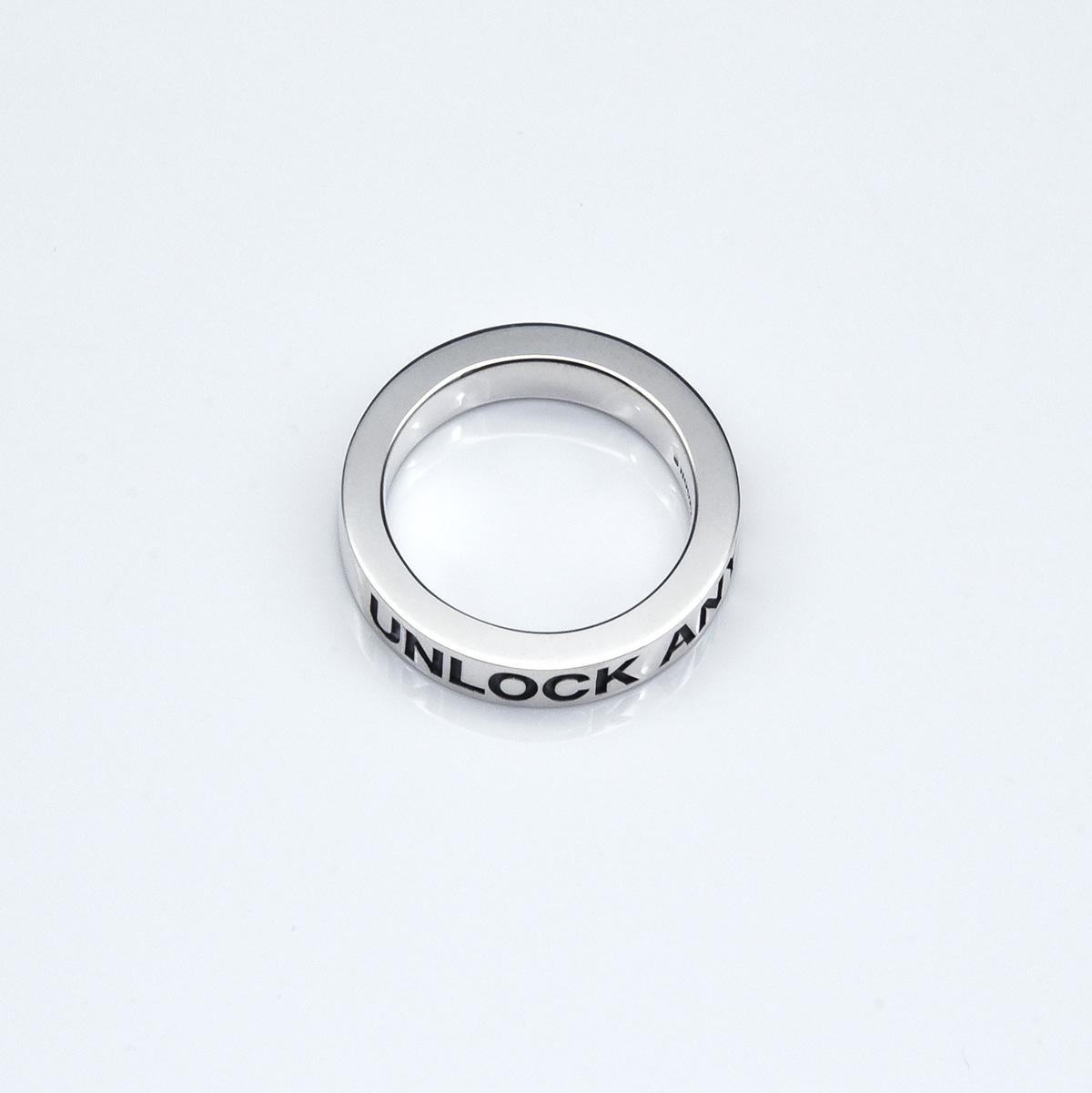 UNLOCK リング 5mm(鏡面仕上げ)