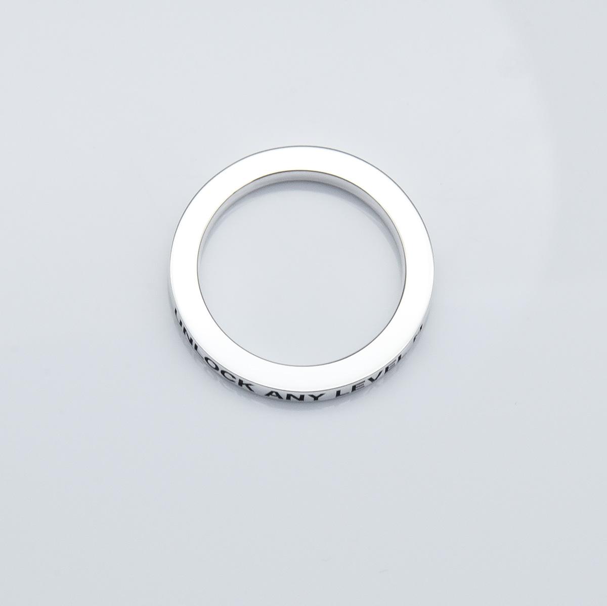 UNLOCK リング 3mm(鏡面仕上げ)