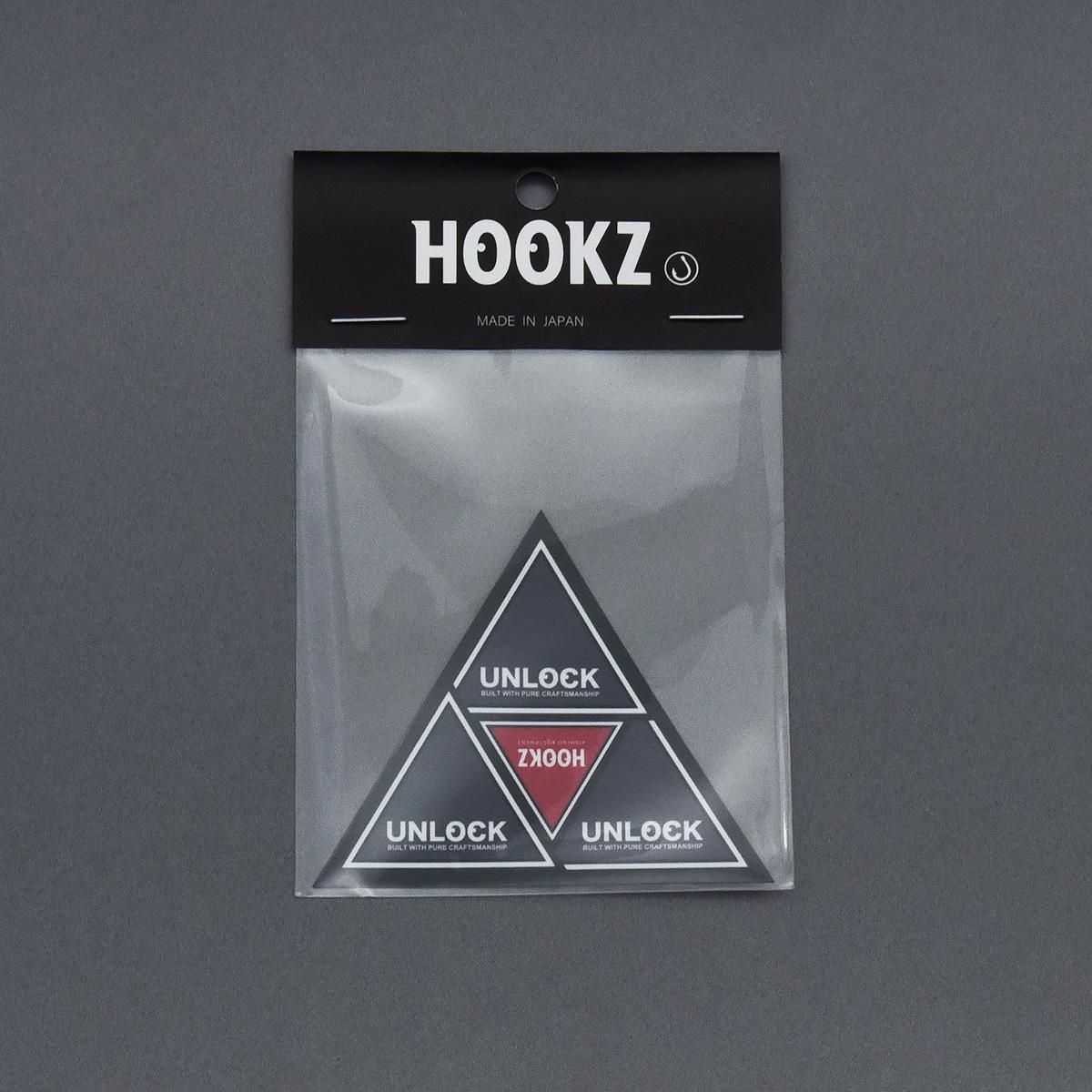 HOOKZ ピラミッドステッカーver.2