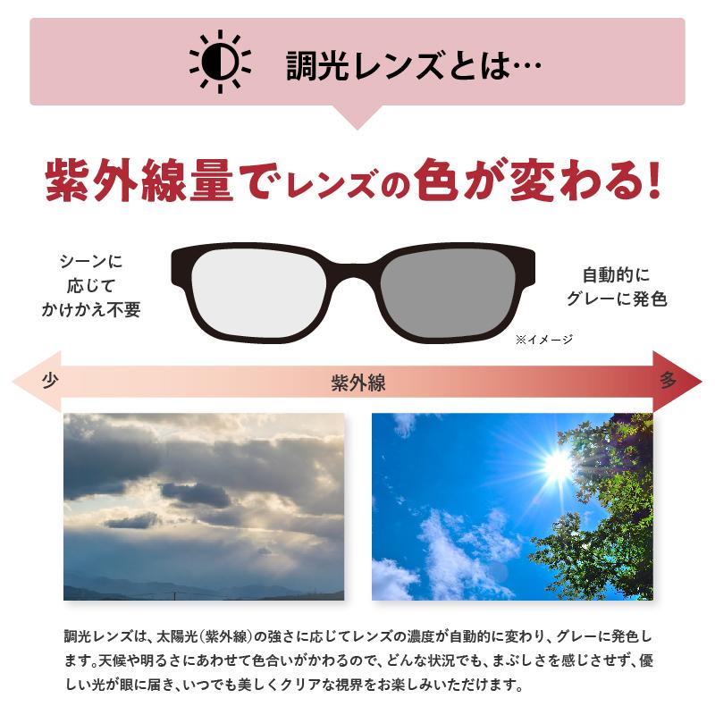 ネオコントラスト シェード「オーバーグラス」調光レンズ 昼夜兼用 メンズ レディース