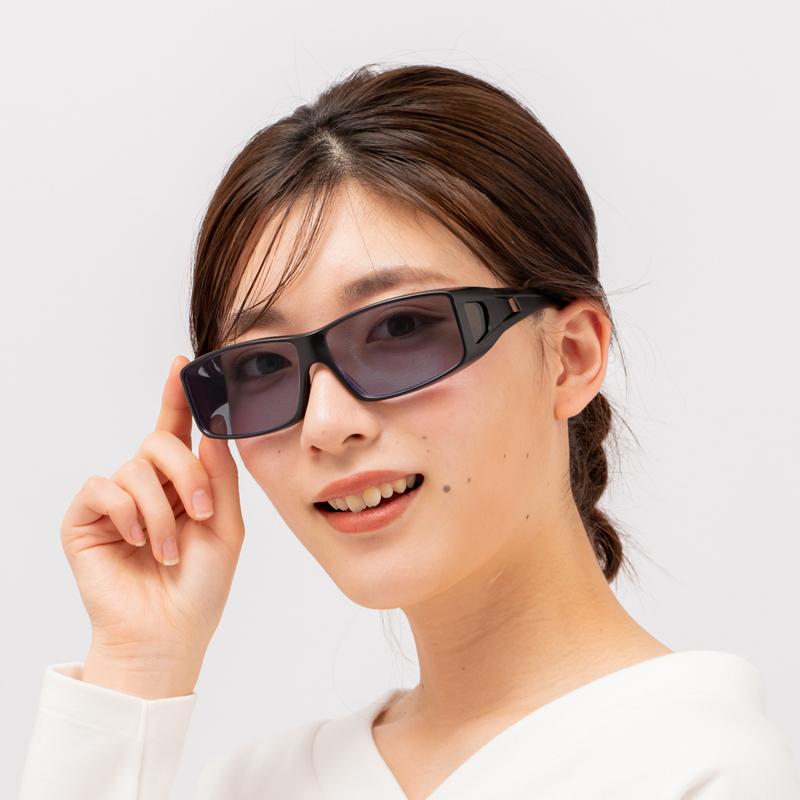 アウトドア誌「GARVY」コラボ 偏光サングラス GV004 ブラウン アウトドア が120%楽しくなる サングラス