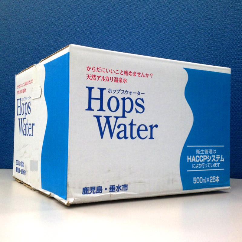 【送料無料】 飲むアルカリ温泉水 乳幼児にも安心 ホップスウォーター 500ml