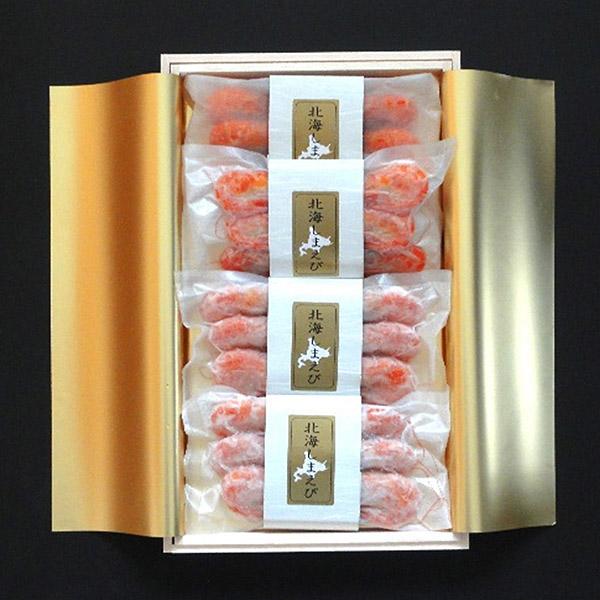 【釧路市:お勧め海産物特集】釧路北匠の『海鮮木箱詰め (北海しまえび)』 ★送料込★