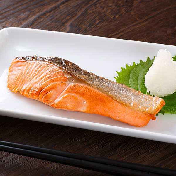 【焼きたての美味しさそのままお届け!】北海道知床産天然「焼き鮭」切り身10切セット
