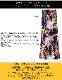 フラワープリント ハイウエストマキシスカート【LA直輸入★インポート】 -la-moa-sk061